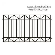 Сварной забор СЗ-15