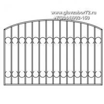 Сварной забор СЗ-25