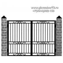 Кованые ворота КВ-10