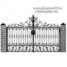 Кованые ворота КВ-106