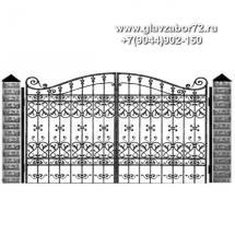Кованые ворота КВ-109