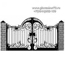 Кованые ворота КВ-111