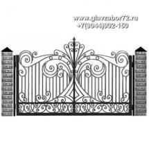 Кованые ворота КВ-113