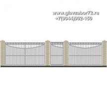 Забор плюс ворота ЗВ-13