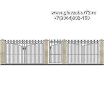 Забор плюс ворота ЗВ-16