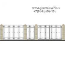 Забор плюс ворота ЗВ-21