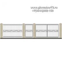 Забор плюс ворота ЗВ-22