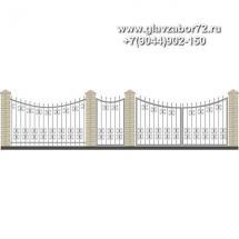 Забор плюс ворота ЗВ-24