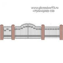 Забор плюс ворота ЗВ-25