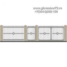 Забор плюс ворота ЗВ-29