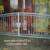 Кованые ворота г.Берозово ХМАО