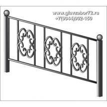 Ритуальная оградка РО-12