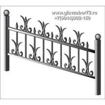 Ритуальная оградка РО-17