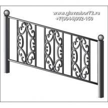Ритуальная оградка РО-19