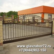 Кованые ворота г.Ялуторовск