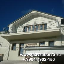 Балкон сварной (Звенящие кедры)