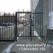 Калитка сварная №1 Тюмень, ул.Чернышевского