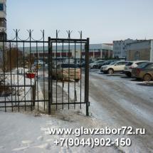 Калитка сварная №2 Тюмень,ул Чернышевского