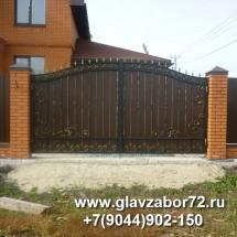 Кованые ворота , Тюмень , Ушаково.