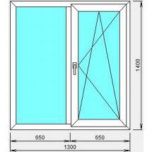 №3 - Окно пластиковое(стандартное)