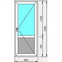 №6 - Дверь пластиковая