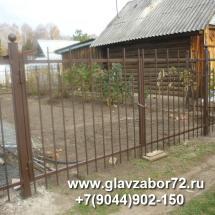 Ворота сварные СНТ Червишево, Тюмень 2015
