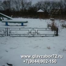 Оградка газонная(сварная) Елань, Тюмень