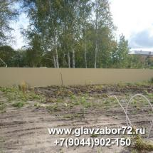 Забор из профнастила Боровое(двор) Тюмень