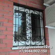 Кованая решетка на окна, Тюмень ул.Чаплина