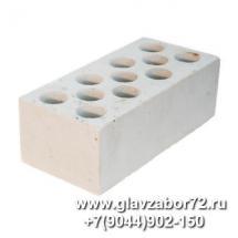 Кирпич силикатный пустотелый полуторный лицевой (белый) ГОСТ 379-95 (с завода)