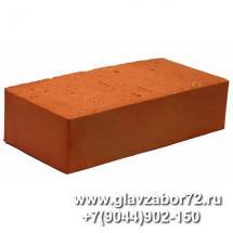 Кирпич керамический полнотелый одинарный рядовой ГОСТ 530-2007 М-125