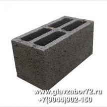 Керамзитоблок стеновой М-75 (390х190х188)