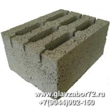 Керамзитоблок стеновой М-50 (390х290х188)