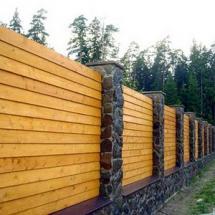 Деревянные заборы