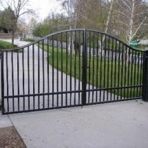 Сварные ворота и калитки