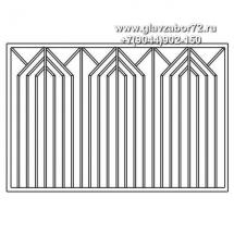 Сварной забор СЗ-26