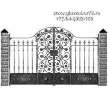 Кованые ворота КВ-105