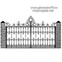 Кованые ворота КВ-112