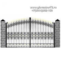 Кованые ворота КВ-115