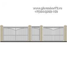 Забор плюс ворота ЗВ-12