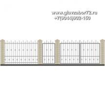 Забор плюс ворота ЗВ-15