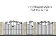 Забор плюс ворота ЗВ-17