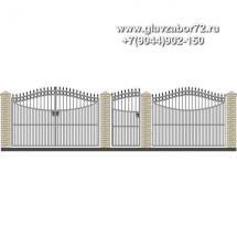 Забор плюс ворота ЗВ-18