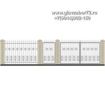 Забор плюс ворота ЗВ-19