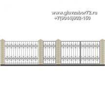 Забор плюс ворота ЗВ-20