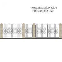 Забор плюс ворота ЗВ-27