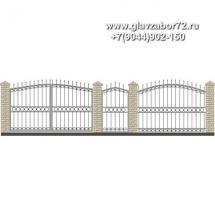 Забор плюс ворота ЗВ-28