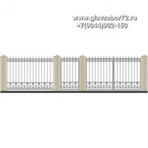 Забор плюс ворота ЗВ-30