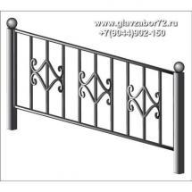 Ритуальная оградка РО-4