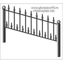 Ритуальная оградка РО-21